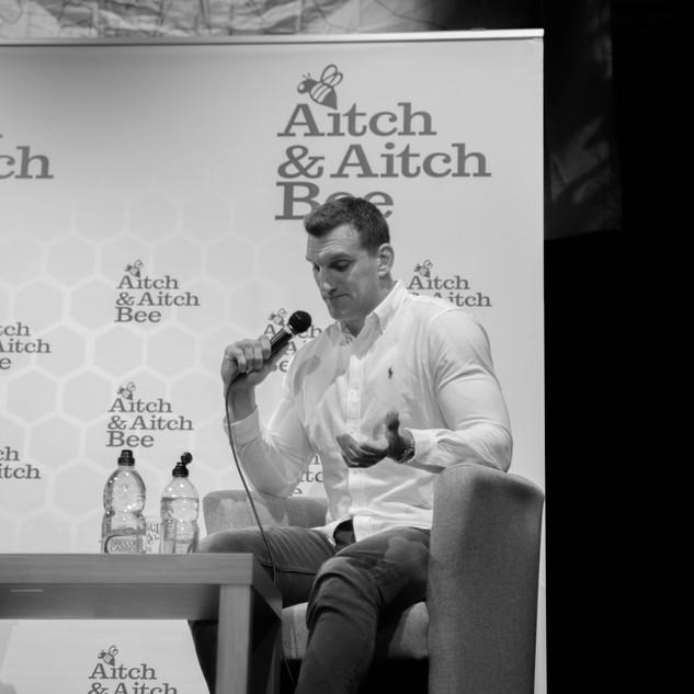 Aitch and Aitch Bee Sam Warburton OBE 45