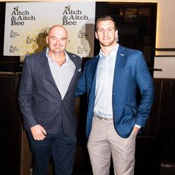 Aitch and Aitch Bee Sam Warburton Chelte