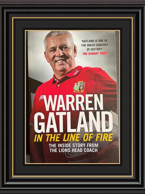 Warren Gatland Signed Copy Paperback Book