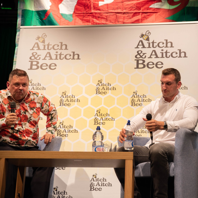 Aitch and Aitch Bee Sam Warburton OBE 54