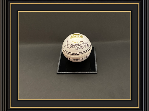 Curtly Ambrose Signed Cricket Ball