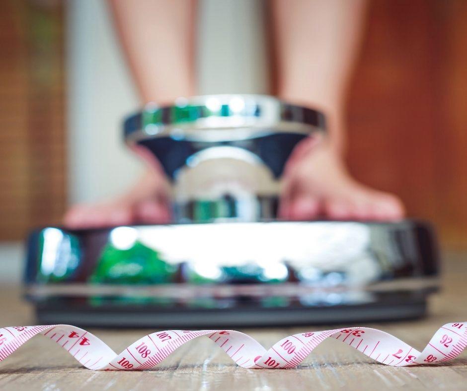 Kodėl nekrenta svoris