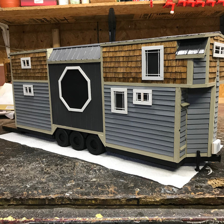Every customer will recive a model replica of their home (No extra charge).