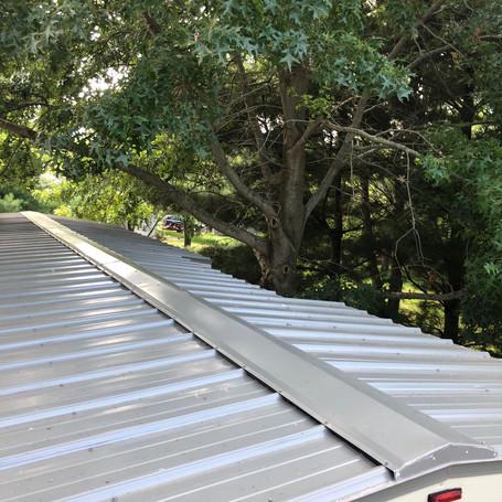 Raised Seam Steel Roof