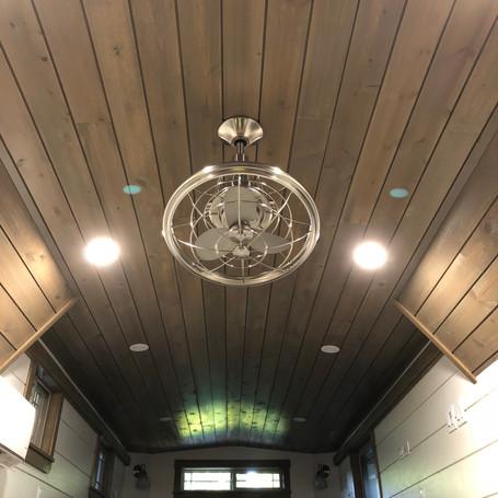 Oscillating Ceiling Fan.