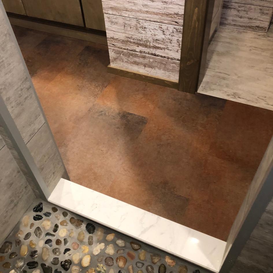 Shower Floor Marble Sill