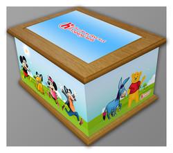 Characters Memory box