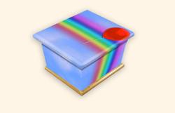 Bright Rainbow Infant CRC 3D