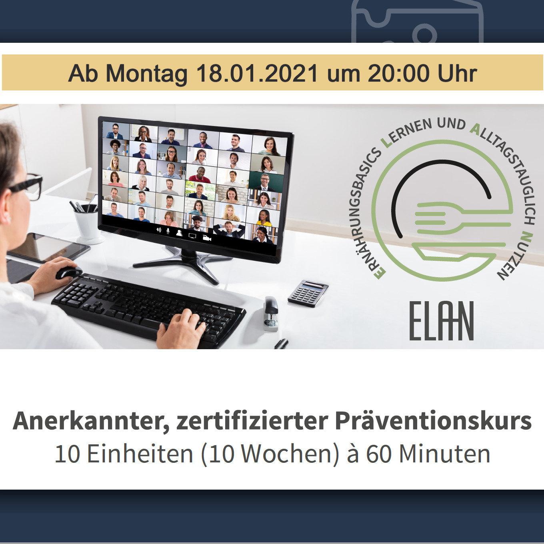 """ELAN """"online"""" - mit Jola - Männerspezial"""