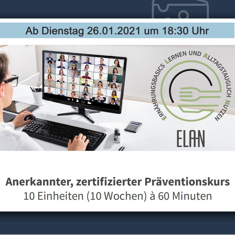 """ELAN """"online"""" - mit Julia Klauke"""