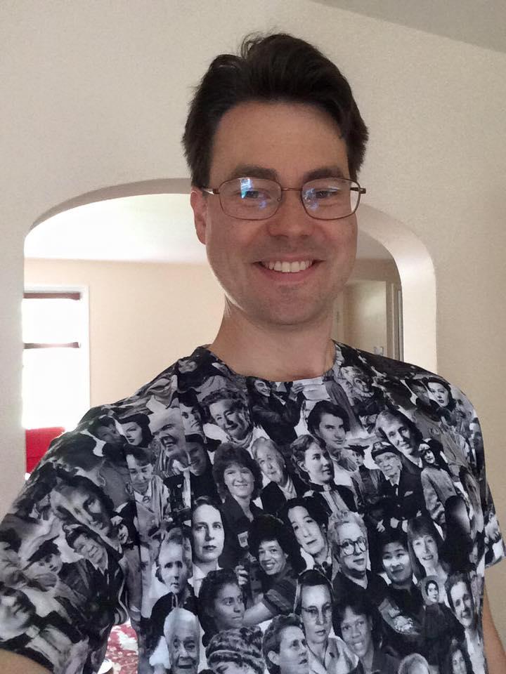 John wearing That Other Shirt