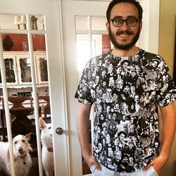 Mehmet wearing That Other Shirt