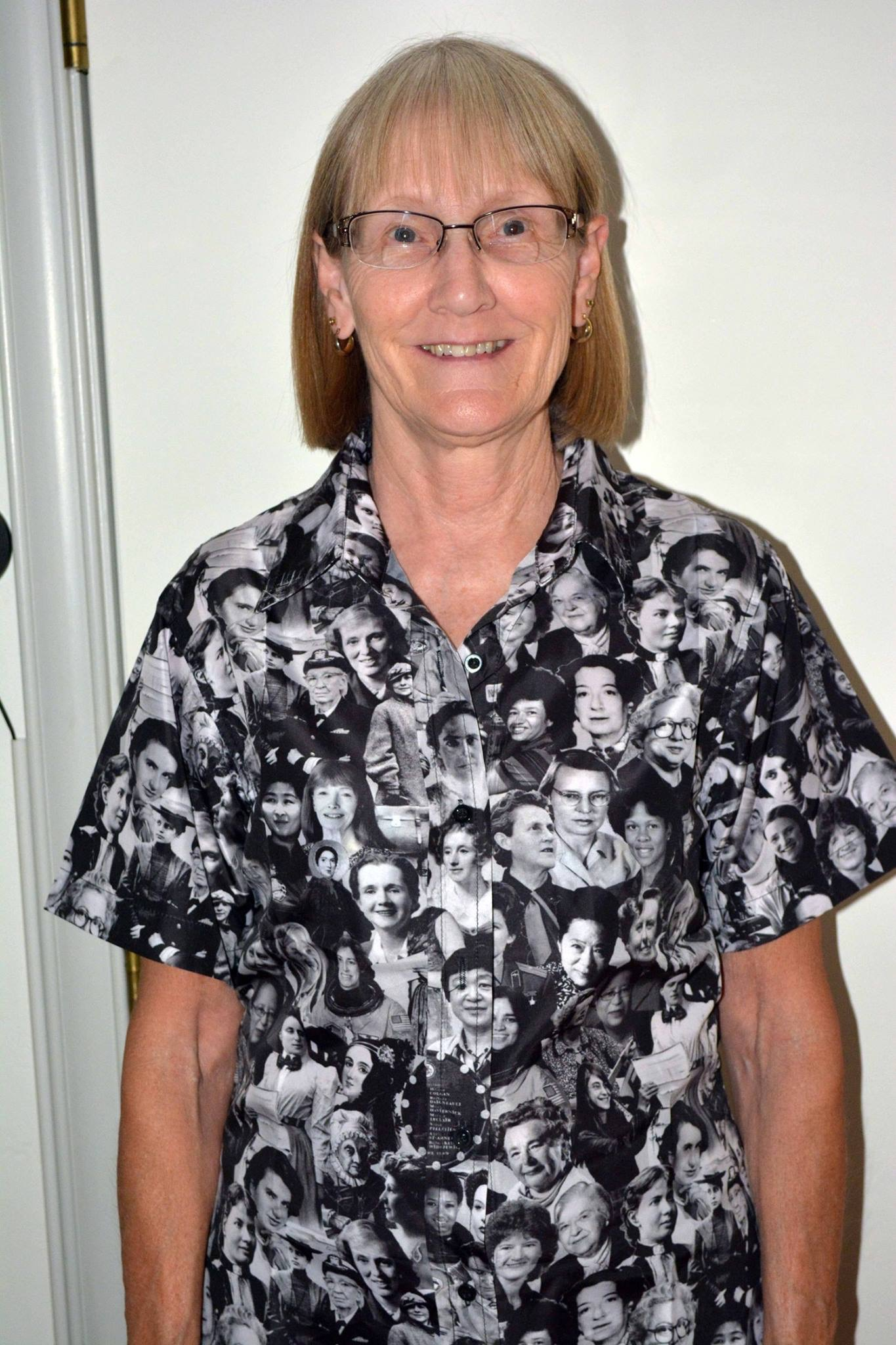 DeAnna wearing That Other Shirt