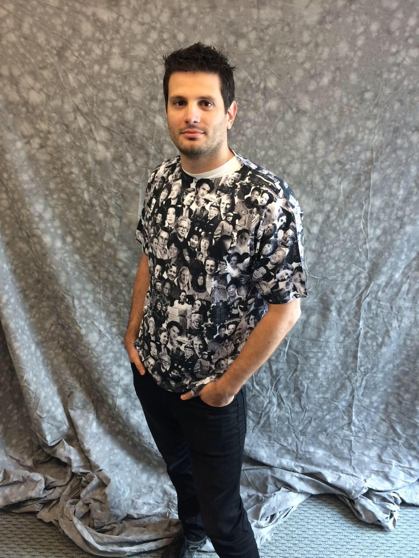 CRDF Global staffer in STEM shirt