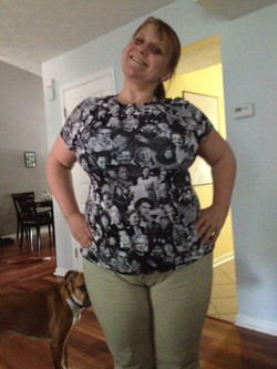 Shauna wearing That Other Shirt