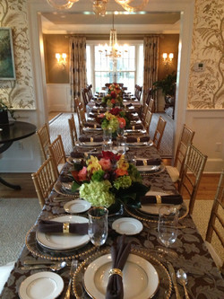 Table setting - - What a Dish Cateri