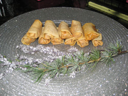 Crab rolls - What a Dish Cater