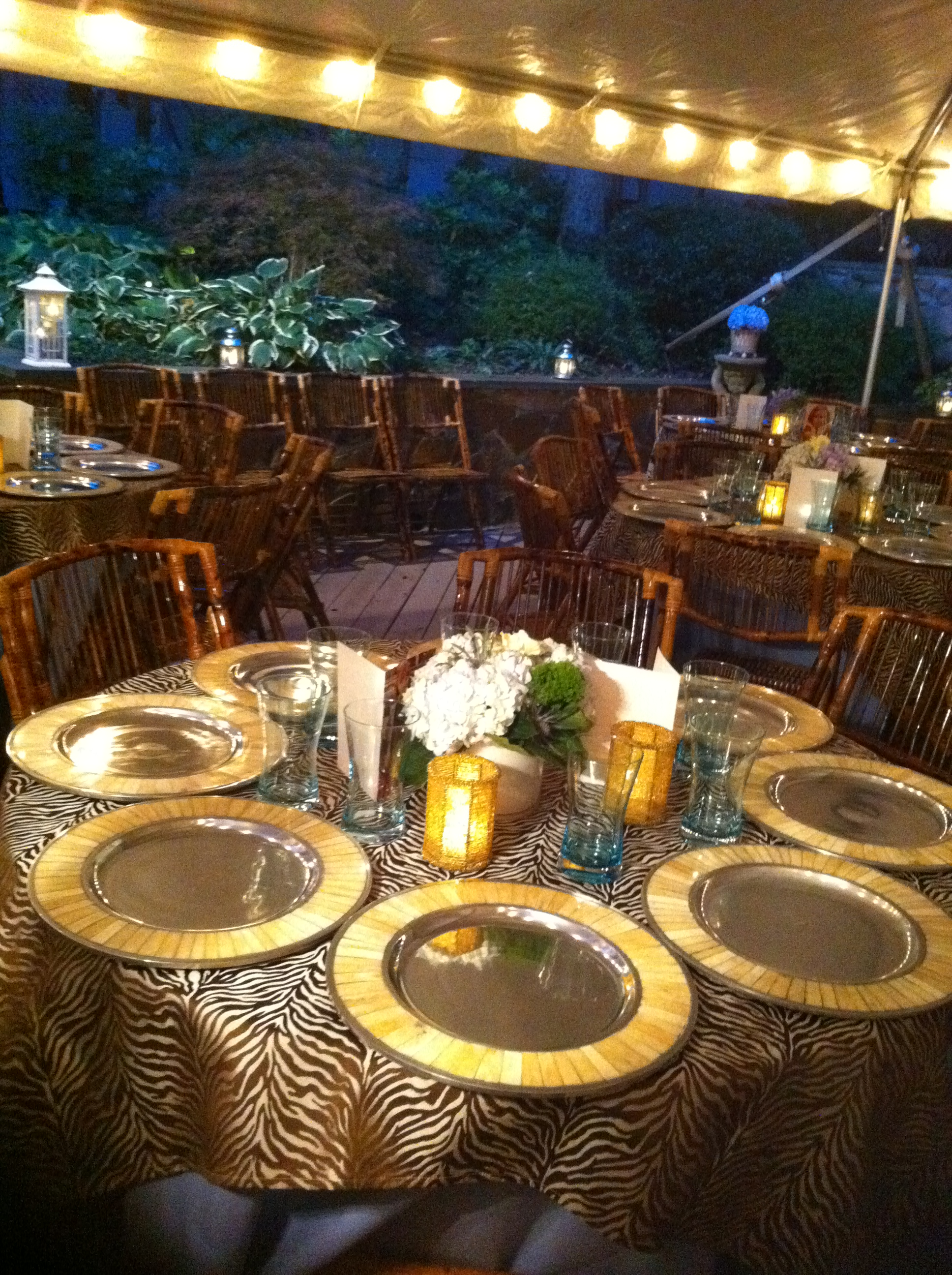 Table setting - What a Dish Catering