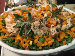 Salmon salad - What a Dish Catering