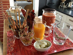 Bloody Mary bar - What a Dish Catering