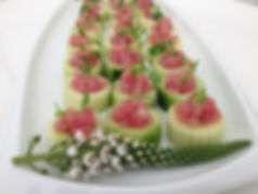 Tuna tartare - What a Dish Catering