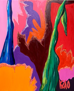 Ombres colorées