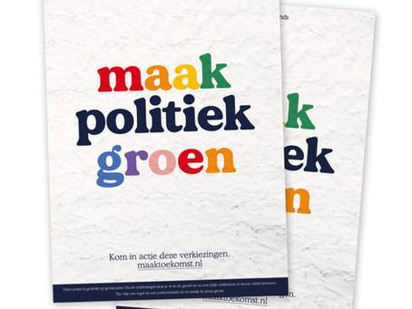 Stem groen!