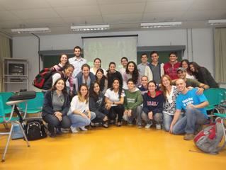 Ex-GFMO compartilha com alunos da Esalq experiência sobre pós-graduação na Universidade de Yale, EUA