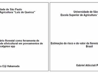 Mais 2 membros da AEI conquistam título de mestre em Ciências Florestais pela ESALQ/USP