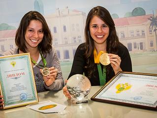 Aluna GFMO recebeu prêmio na Rússia