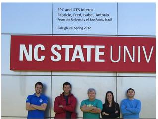 Alunos GFMO finalizam estágio na NCSU sob supervisão do Prof. José Luiz Stape