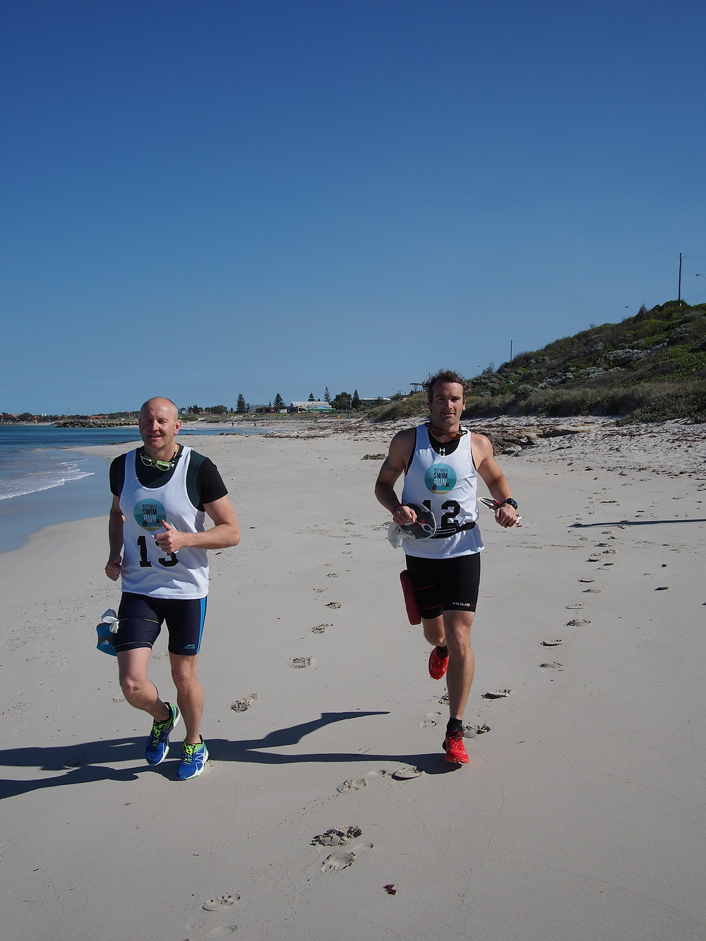 Running? Make sure you add in some sand, sand and more sand..