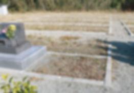 デザイン墓 現場写真