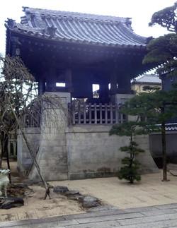 鐘楼台 松阪市 養泉寺