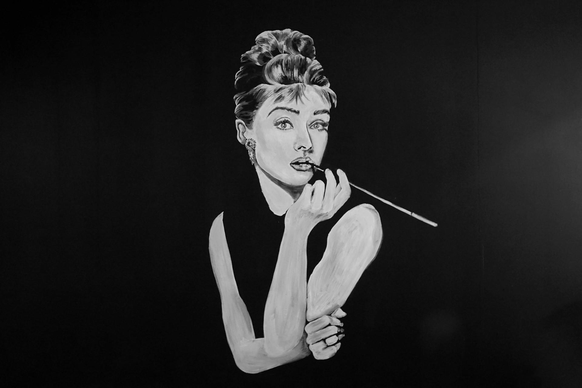 Wandbild Kreide