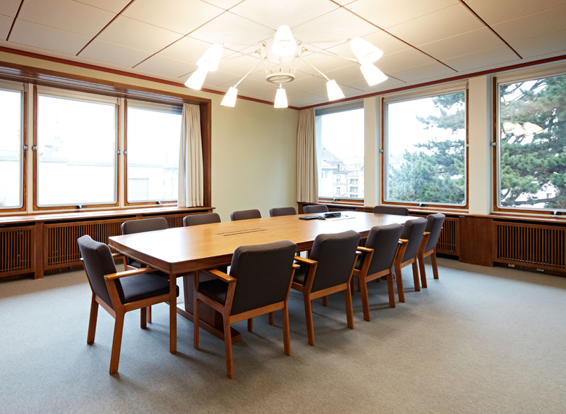 Sitzungszimmer Denkmalpflege
