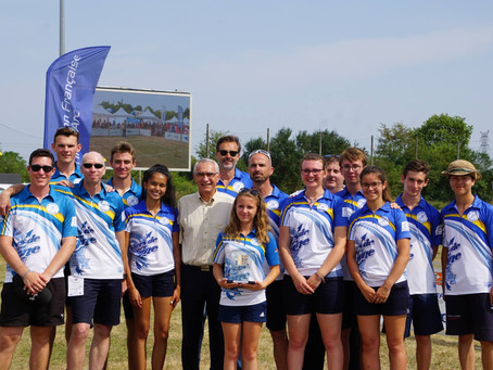LES ARCHERS DE COMPIEGNE CHAMPION DE FRANCE DES CLUBS FORMATEURS :