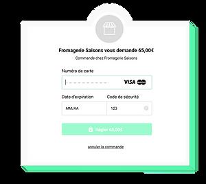Les clients qui commandent via le module en ligne peuvent payer directement sur le module après validation de leur commande