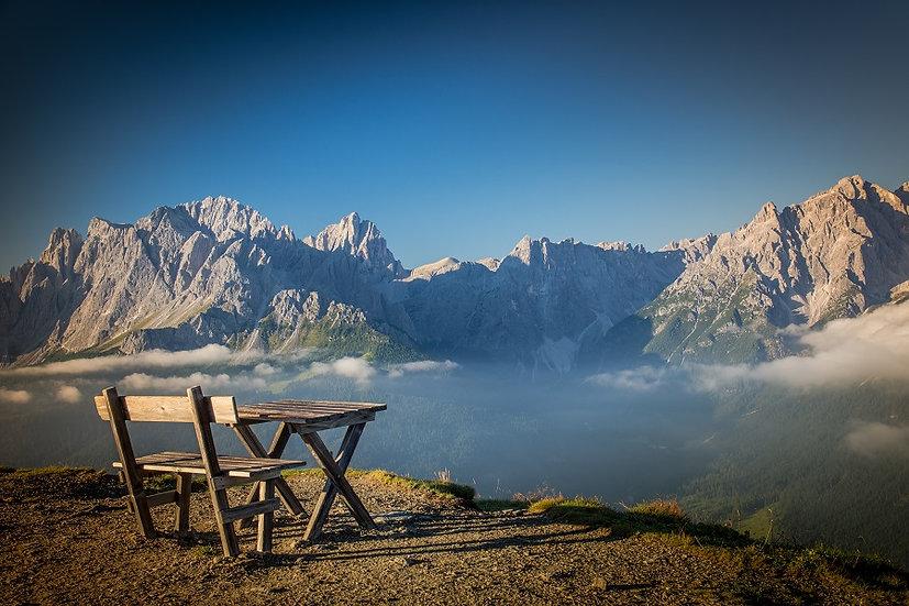 PrintPhotos Bench at Mountain 01
