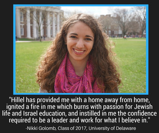Senior Stories - Nikki Golomb