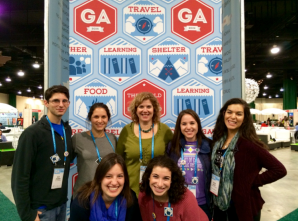 SEVEN UD STUDENTS ATTEND THE JFNA'S GENERAL ASSEMBLY
