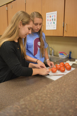 Healthy Cooking with Hillel
