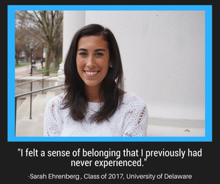 Senior Stories - Sarah Ehrenberg