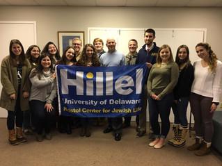 Former Gov. Markell inspires Hillel Israel Leaders
