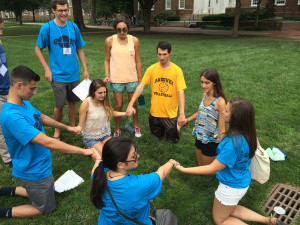 UD HILLEL'S FRESHMEN FEST: FINDING YOUR PLACE BEFORE SCHOOL EVEN BEGINS