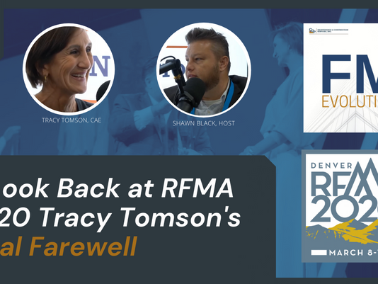 A Look Back at RFMA 2020 Tracy Tomson's Final Farewell