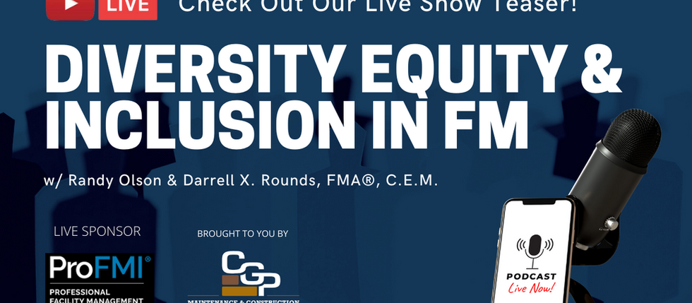 Diversity, Equity, & Inclusion in FM