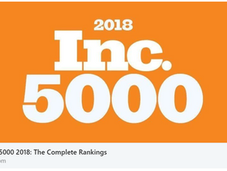 CGP Makes the List! | Inc. 5000 2018: The Full List