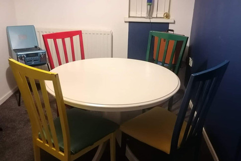 New dining space