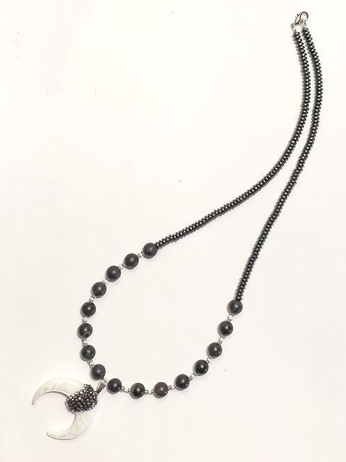 Hematite Negativity Clearing Necklace